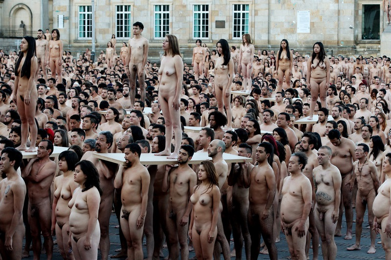 Topless Women Bare All In Protest After Police Threaten To Arrest Semi
